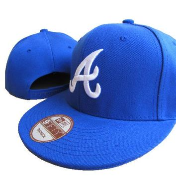 Atlanta Braves New Era MLB 9FIFTY Cap Blue-White