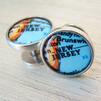Born To Run • New Jersey Cufflinks