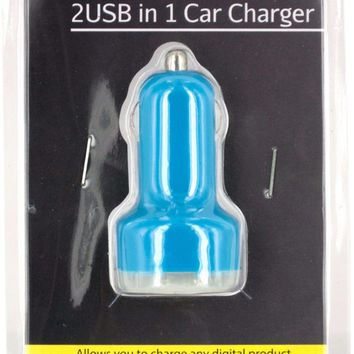 2 usb in 1 car charger Case of 12