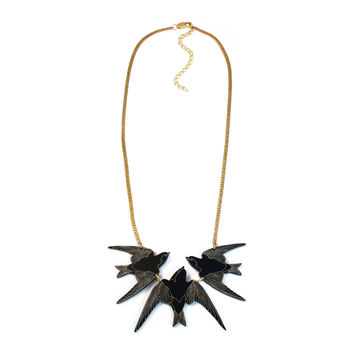 Flight of Swallows Necklace