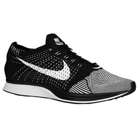 Nike Flyknit Racer (Black/White) - Men's