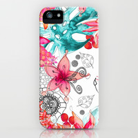 *** TROPICAL GARDEN *** iPhone & iPod Case by Monika Strigel | Society6