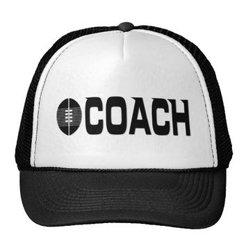 Football Coach Trucker Cap Trucker Hat