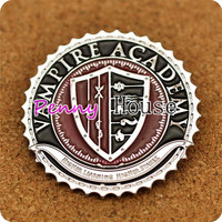 Vampire Academy School Logo badge brooch
