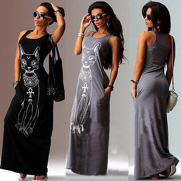 Long Maxi Evening Casual Party Dress