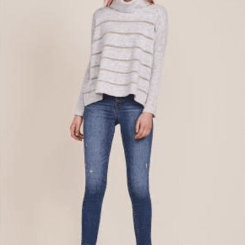 Women's Cupcakes and Cashmere Harlo Striped Pullover