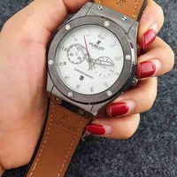 HUBLOT 2018 new high quality trendy quartz watch F-Fushida-8899 grey