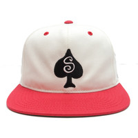 Stussy - Roots Snapback Cap (Red)