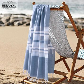 New 2017 Turkish Towel  - 100% Cotton Bath Towels For Adult Super Soft Beach Towel Quick Dry Towel Muslin Blanket Brand 75*140cm
