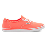 Vans Neon Authentic Lo Pro (Coral)