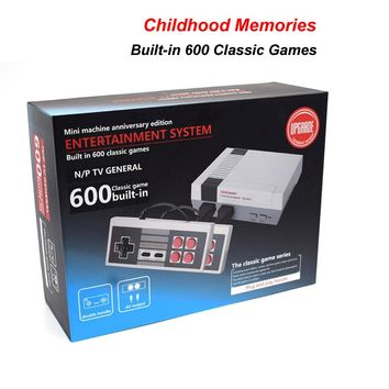 Classic Retro Game System Console with Built-in 500+ Games