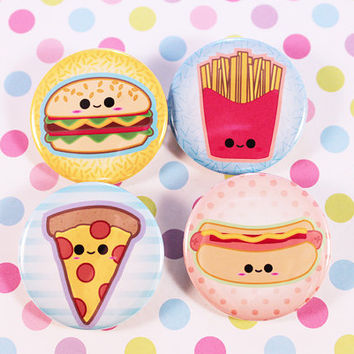 Foodie Cuties Pins