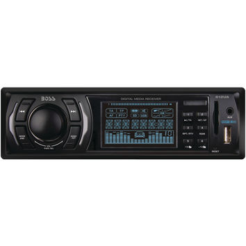 Boss Audio Single-din In-dash Mechless Receiver