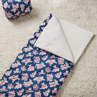 Navy Floral Northfield Sleeping Bag