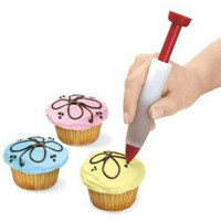DIY Baking Tools Silicone Chocolate Pen Decorating Pen Food Writing Pen Cake Decorating Tools