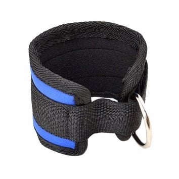 Ring ankle anchor strap belt gym accessories thighs leg pulley strap lifting exercise training fitness plastic weightlifting