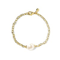 Pearly Perfect Bracelet in Gold by Kiel James Patrick