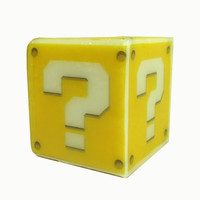 Mario Coin Cube Inspired Soap for Geeks, Gamers, Kids