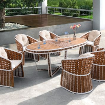 Shenz Outdoor Dining Set