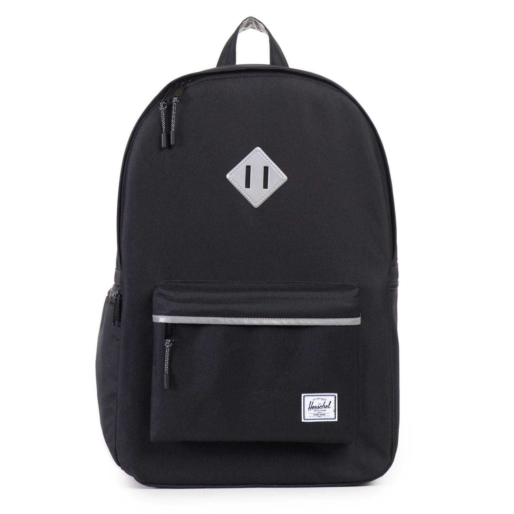 Herschel Supply Co.  Heritage Backpack Plus - Black   3M Rubber 3d603cffac31a