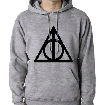 Deathly Hallows Hoodie Hoodie Unisex SIZE S M L XL