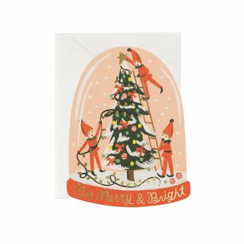 Merry Elves Greeting Card by RIFLE PAPER Co. | Made in USA