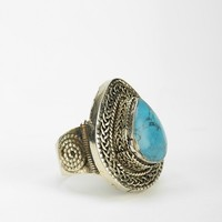 Silk Road Stone Ring - Urban Outfitters