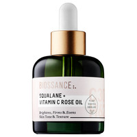 Sephora: Biossance : Squalane + Vitamin C Rose Oil : cleansing-oil-face-oil