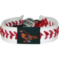 Gamewear Orioles Classic Band Gamewear Mob Leather Wrist Bands