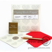 Green Earth Stores | 00211467344 - Flying Wish Paper - Mini - Hearts