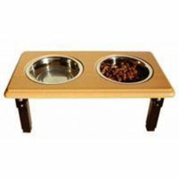 DCCKU7Q Ethical Posture Pro Adjustable Oak Double Diner