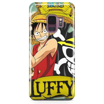Straw Hat Pirate Captain Samsung Galaxy S9 Case | Casefantasy