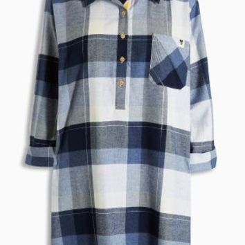 Buy Blue Check Nightshirt online today at Next: Deutschland