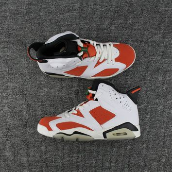 "Nike Air Jordan 6 Retro ""Gatorade"" Basketball Shoe US5.5-13"