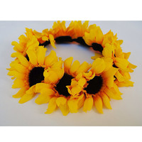 Baby Sunflowers Flower Crown by VintageDivinitiess on Etsy