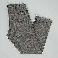 "Reinforced Mil Chinos, Grey ""Galaxy Tweed"""
