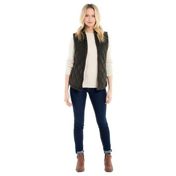 Women's Callaghan Quilted Gilet by Dubarry of Ireland