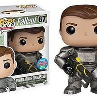 Funko Pop Games: Fallout - Unmasked Power Armour NYCC Exclusive Vinyl Figure