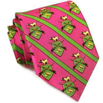 Bird Dog Bay, Hunt Club Tie, Fuchsia