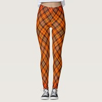 plaid patterns leggings
