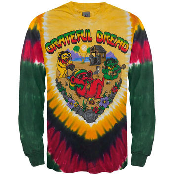 Grateful Dead - Positive Vibrations Long Sleeve T-Shirt