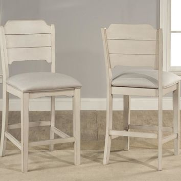 Hillsdale Clarion - Pub Dining Sets - Sea White