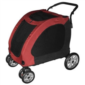 PetGear Expedition Pet Stroller - Burgundy