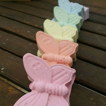 Bulk XX- Large Butterfly Chalk // Healthy Stocking Stuffer // Non Candy Gifts // Chalk Goodie Bag // Rainbow Loom Party