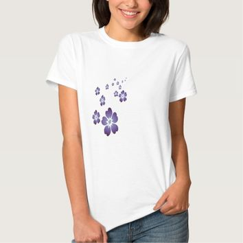 Purple Flowers T-Shirt