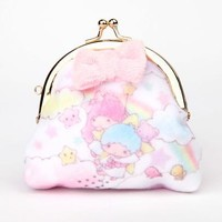 Little Twin Stars Coin Purse: Fluffy Friends