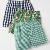 Camo Boxers 3 Pack
