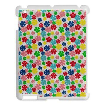 Colorful Daisy Wheels iPad 2 Hard Case> iPad Cases, Covers and Sleeves> Graphic Allusions