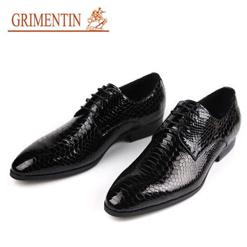 men party shoes black lace up round toe handmade luxury genuine leather mens dress shoes summer