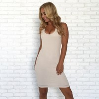 Down The Grapevine Crochet Ivory Dress